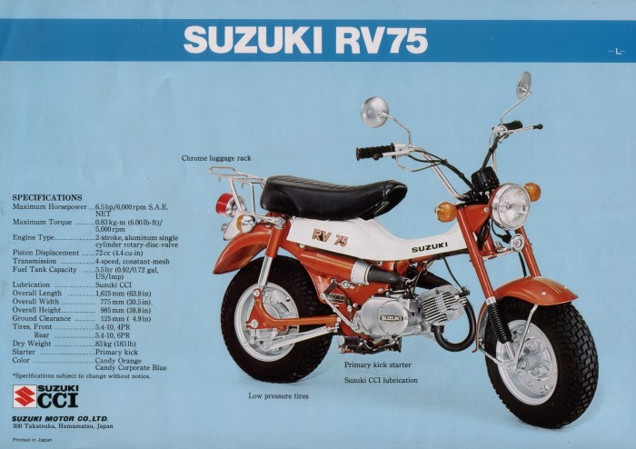 Suzuki V